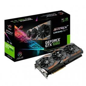 Placa Vga Asus Geforce Gtx1080 8gb Strix-gtx1080-a8g-gaming