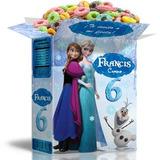 Kit Cumpleaños Imprimible Frozen 100% Editable, Cajita Feliz