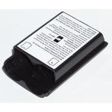 Tapa Porta Baterias Xbox 360 Negra