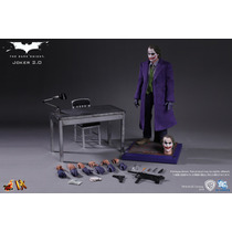 Joker 2.0 Dx11 Hot Toys Heath Ledger Batman The Dark Knight