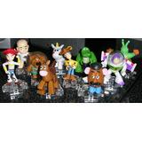Coleccion De 10 Muñequitos Toy Story Disney Pixar Cumpleaños