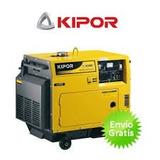 Generador De Corriente Alterna 6 Kva Kipor Kde 6500 T