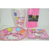 Piñata Hello Kitty Fiesta Cumpleaños Decoración Piñatería