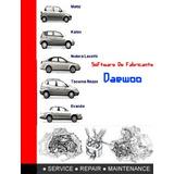 Software De Taller Daewoo Matiz-tacuma-nubira 2000 Al 2004