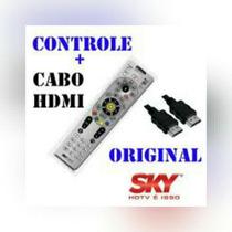 Kit Controle Da Sky Plus + Cabo Hdmi
