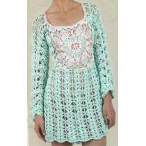Tejidos Artesanales A Crochet: Vestido!