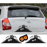 Adesivo Monstro Escondido Personalize Seu Automóvel 2 Opções