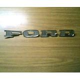 Ford-pick Up F-100 Insignia Letras Ford De Capot Mod 72-73