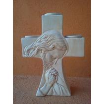 Recuerdos De Confirmacion De Cruz Porta-velas De Cristo