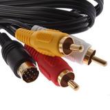 Cable De Audio Y Video Para Sega Saturno 10 Pines