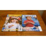 Dos Agujas 2 Mini Revistas Batitas Y Gorritos Y Bufandas