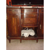 Mueble Modular,vajillero,antiguo Con Marmol Impecable,excele