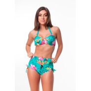 Biquíni Top Inteiro Plus Size E Sunkini Plus Size Tropical