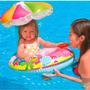 Boia Inflavel Bebê Com Cobertura Intex #56583np