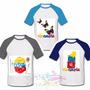 Camisas/ Franelas De Venezuela Personalizadas