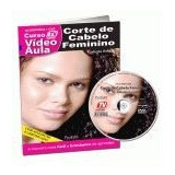 Dvd Curso Video Aula Corte De Cabelo Feminino Cabeleireiro