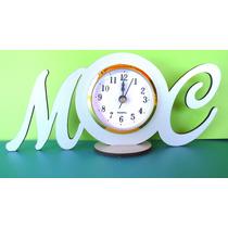 30 Souvenirs Reloj Despertador Con Nombre Casamientos, Bodas