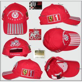 Gorra Historica Michael Schumacher 7 Campeonatos Ferrari F1