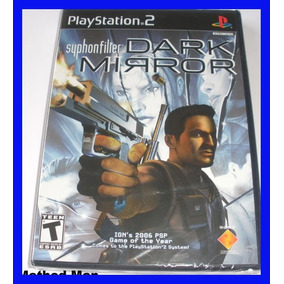 (12) Syphon Filter Ps2 Dark Mirror Playstation 2 Original