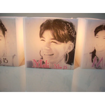 Souvenir,centros De Mesa,15 Años, Fanal Con Foto,frase Etc..