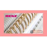 Espirales Nº 17mm Para Encuadernacion Renz Pvc - Anillos