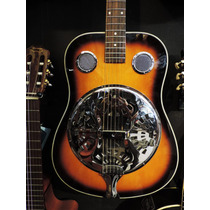 Guitarra Dobro Folk Acústica Resonadora Sunburst