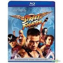 Blu-ray Street Fighter A Última Batalha Van Damme- Dublado