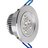 Spot Embutir Led 3w Aluminio Movible 220v Luz Calida