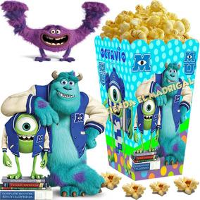 Kit Imprimible Monster Monsters University Inc Candy Bar 2x1