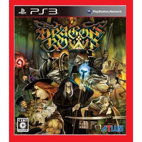 Dragons Crown Ps3 Psn Jogo De Rpg Play 3 Digital