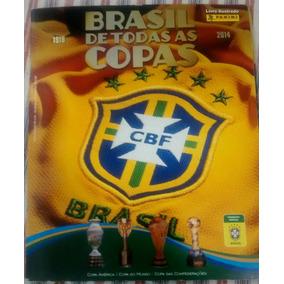 Álbum Completo Brasil De Todas As Copas