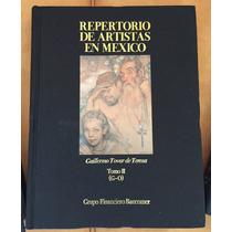 Repertorio De Artistas En México, Tomos 2 Y 3