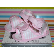 Sandalias A Rayas Gorditoo Rosa Ta 14-17 Little Treasure