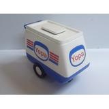Miniatura De Carrinho De Sorvete Yopa - Kibon - Coca Cola