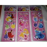 Disney Calcomanias Stickers ( 3d ) Princesas Varias