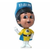 Boneco Brasilino Antigo Mascote Da Fábrica Móveis Brasil