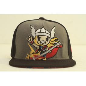 Gorra Visera Plana Snapback Marvel Thor Unica Spf 6711186-86