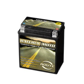 Bateria Moto Route Ytx7l-bs Honda Cb 600 F Hornet Ano 05/07