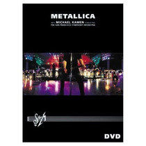 Dvd Metallica - S & M (lacrado) Dvd Duplo