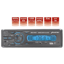 Autoestereos Digital Usb Sd Mp3 Entrada Auxiliar 600w 9930
