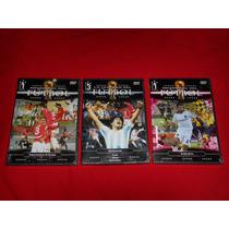 Futbol - Memorias / Leyendas Del Futbol Lote De 3 Dvds