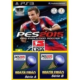Patch Pes 2015 Brasileirão Serie A, Série B + Bundesliga