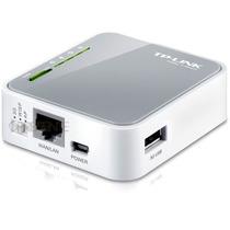 Mini Roteador Portatil 3g E 4g Tp-link Tl-mr3020 W S/modem