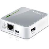 Mini Roteador Portátil Wireless 3g/4g Tl-mr3020 Contr Acesso