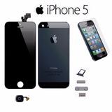 Kit Tela Display Iphone 5 5g + Carcaça + Botões + Home