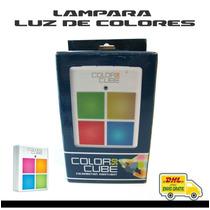 Lampara De Luz De Colores Nocturna Para Terapia / Relajación