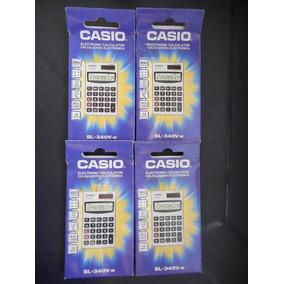 Calculadora Electrónica Casio Sl-340v-w 14 Dígitos.
