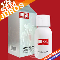 Perfume Diesel Plus Plus Edt 75ml Original - Lacrado
