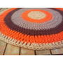 Alfombras Tejidas 1.20 En Crochet