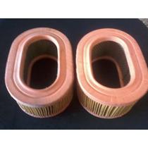 Filtro Ar Variante Fusca Oval Dupla Carburação /...2 Peças